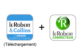 Le Grand Robert & Collins (Téléchargement) + Le Robert Correcteur