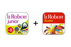 Le Robert Junior + Le Robert illustré